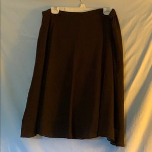 George Size 16 brown 2 layer skirt
